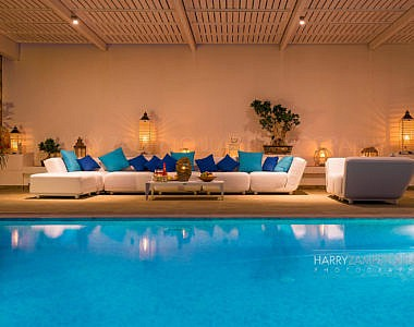 Pool-Night-6-380x300 Luxury Villa in Vlicha, Lindos, Rhodes - Professional Photography Harry Zampetoulas