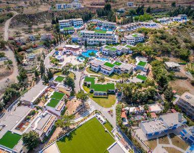 Aerial-4-380x300 Hotel Porto Angeli Beach Resort - Hotel Photography Harris Zampetoulas