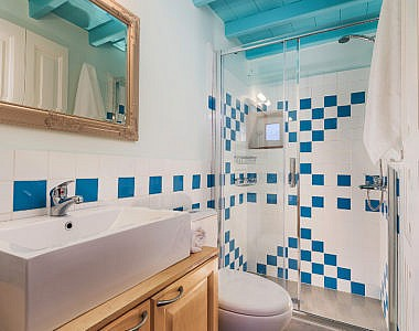 Bathroom-2-3-380x300 Platanos Cottage, Traditional House in Symi - Professional Photography Harry Zampetoulas