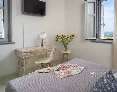 Bedroom-1a-1-380x300 The White Village, Lachania, Rhodes - Professional Photography Harry Zampetoulas