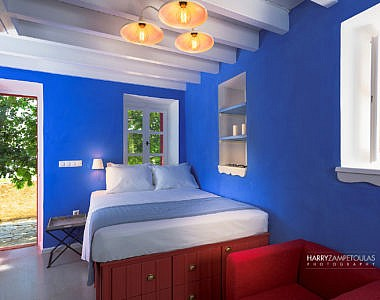 Bedroom-1a-2-380x300 Platanos Cottage, Traditional House in Symi - Professional Photography Harry Zampetoulas