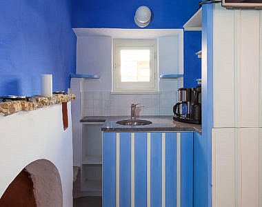 Bedroom-1c-380x300 Platanos Cottage, Traditional House in Symi - Professional Photography Harry Zampetoulas