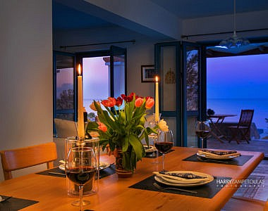 Dinner-Table-3-380x300 Villa in Lachania Beach, Rhodes - Professional Photography Harry Zampetoulas