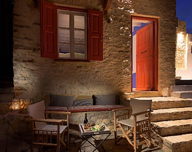 Exterior-Night-1-380x300 Platanos Cottage, Traditional House in Symi - Professional Photography Harry Zampetoulas