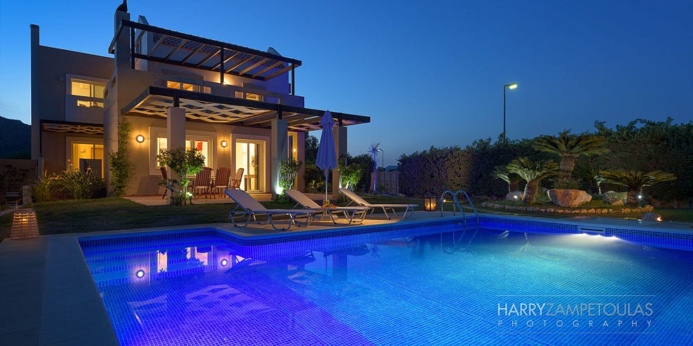Exterior-Night-1000x500 Houses & Villas Photography Professional Photography Harry Zampetoulas, Rhodes, Greece