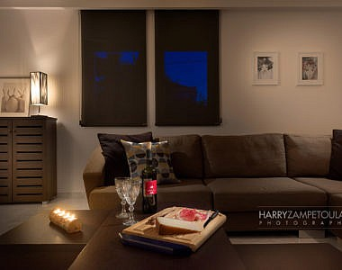 Livingroom-Night-1-final-380x300 Apartment in Rhodes Town - Professional Photography Harry Zampetoulas