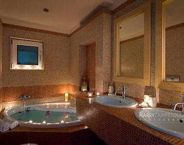 Master-Bathroom-Night-380x300 Villa in Afandou, Rhodes - Professional Photography Harry Zampetoulas