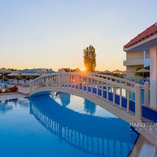 Pool-Morning-1-500x500 Hotel Photography, Luxury Hotels Photography, Rhodes, Greece