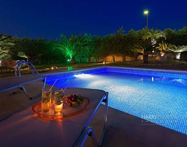 Pool-Night-380x300 Villa in Afandou, Rhodes - Professional Photography Harry Zampetoulas