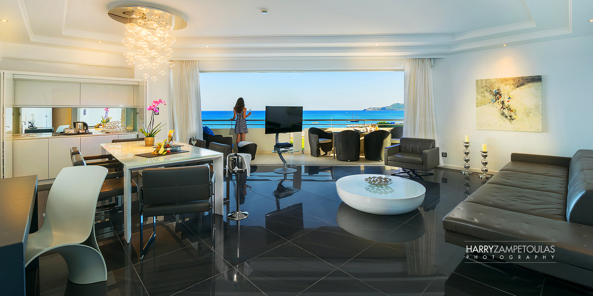 Presidential-livingroom Hotel Photographer Professional photography Architecture Interior Design Photography Harry Zampetoulas Rhodes Greece