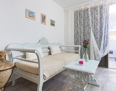 Sofa-1-380x300 Small Apartment in Rhodes Town - Professional Photography Harry Zampetoulas