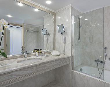 Bathroom-380x300 The New Superior Room of Rodos Palladium Hotel - Hotel Photographer Harry Zampetoulas