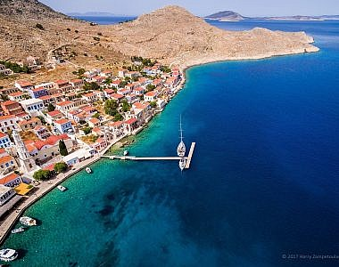 Aerial-1-380x300 Admiral's House, Halki, Greece - Harry Zampetoulas, Professional Photography