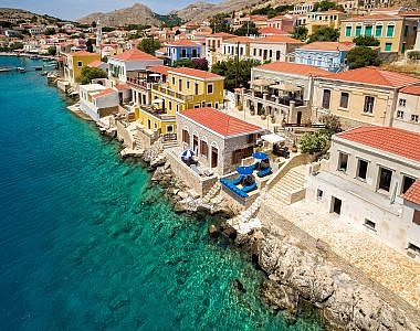 Aerial-3-380x300 Admiral's House, Halki, Greece - Harry Zampetoulas, Professional Photography