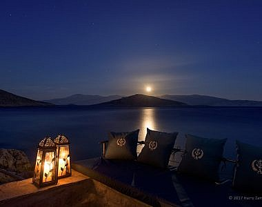 Sunbeds-Night-2-380x300 Admiral's House, Halki, Greece - Harry Zampetoulas, Professional Photography