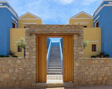 Entrance-1-380x300 AˑSymi Residences - Symi -  Professional Hotel Photography Harry Zampetoulas