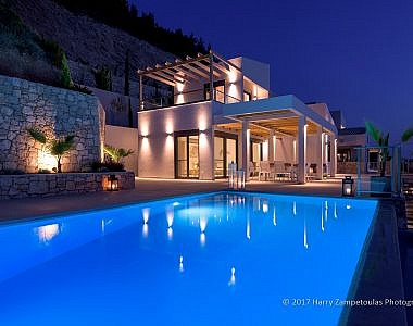 Exterior-NIght-3-380x300 Villa Oceanos - Kathisma Bay, Lefkada -  Professional Property  Photography Harry Zampetoulas