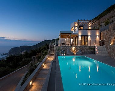 Exterior-Night-1-380x300 Villa Helios - Kathisma Bay, Lefkada -  Professional Property  Photography Harry Zampetoulas