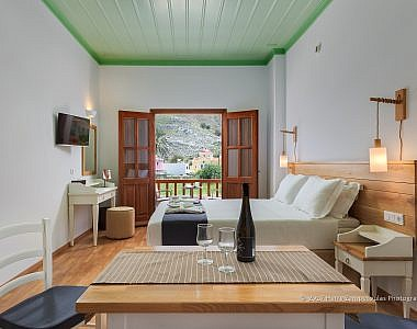 Room-3b-380x300 AˑSymi Residences - Symi -  Professional Hotel Photography Harry Zampetoulas