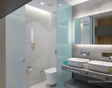 Avra-Beach-Rhodes_Family-Bathroom-1-380x300 AVRA Beach Resort Hotel Rhodes 2018 - Hotel Photography Harry Zampetoulas