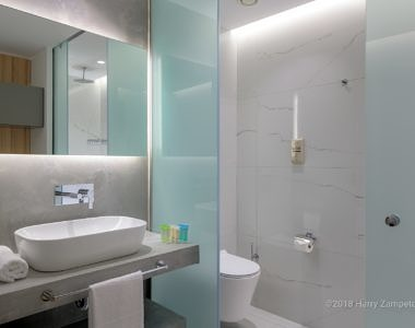 Avra-Beach-Rhodes_Superior-Bathroom-2-380x300 AVRA Beach Resort Hotel Rhodes 2018 - Hotel Photography Harry Zampetoulas