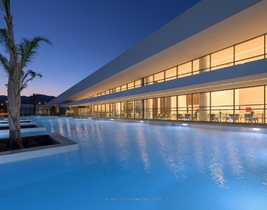 Exterior-Night-2-380x300 Gennadi Grand Resort, Rhodes - Hotel Photography by Harry Zampetoulas