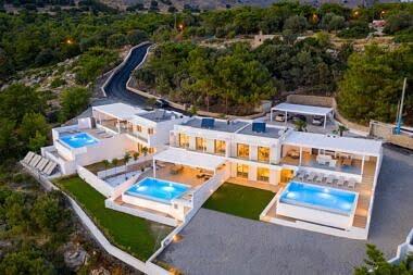 Aerial-1-1-380x253 Villa Mimosa - Pefkos Hill Villas - Harry Zampetoulas Photography